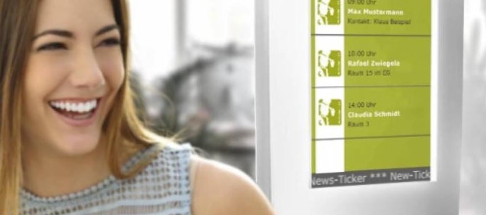 Digital Room Signage